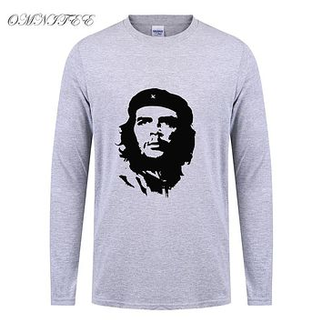 Men All Freedom T Shirt Spring Full Sleeve Cotton Creative Printed Long Sleeve T-shirt Tees Top