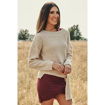 Pete Knitted Sweater (Blush)