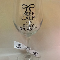 Chanel Wine Glasses