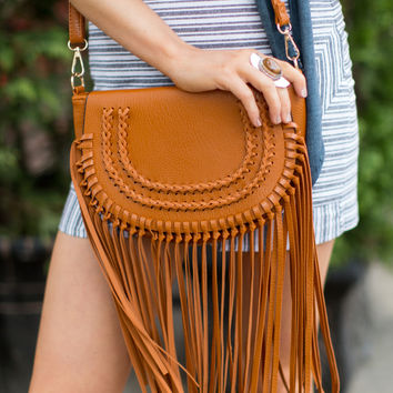 Coachella Crossbody Bag - Tan