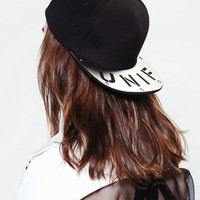 UNIF Metal Snapback Hat - Urban Outfitters