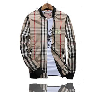 Burberry Fashion Casual Cardigan Jacket Coat-2