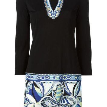 DCCKIN3 Emilio Pucci printed shift dress