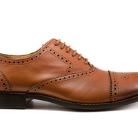 Goodyear Welted Durant Oxford - Burnished Tan