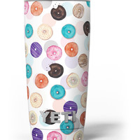 The Colorful Donut Overlay Yeti Rambler Skin Kit