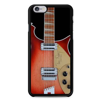 Tom Petty Signature In Fireglo Guitar iPhone 6 / 6S Case