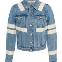 Ribbon Detailed Denim Jacket | Moda Operandi