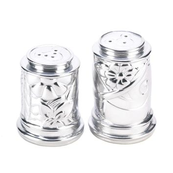 Mickey Mouse Floral Salt And Pepper Shakers