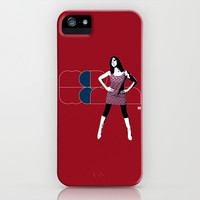 Mod Woman iPhone & iPod Case by Matt Irving