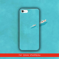 Relaxing in the Pool iPhone 6 plus case