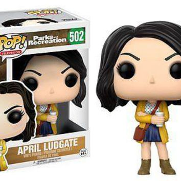 "Funko Pop April Ludgate 3.75"" Vinyl Figure Parks and Recreation IN STOCK"