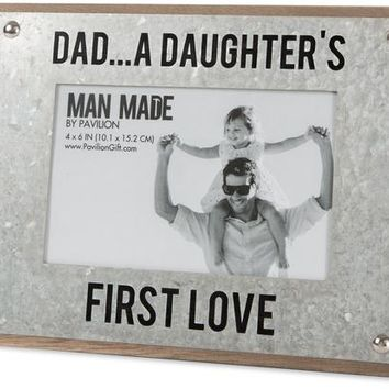 Dad...a daughter's first love Picture Photo Frame
