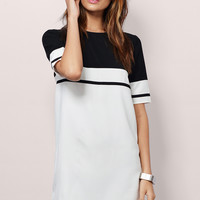 Stripe Me Shift Dress