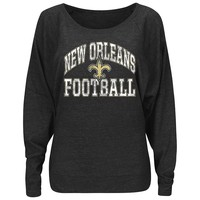 Majestic New Orleans Saints Sweet Signal Fashion Top - Women's, Size:
