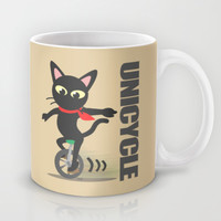 Unicycle Mug by BATKEI