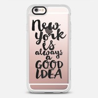 New York Is Always A Good Idea iPhone 6s case by Sara Eshak | Casetify