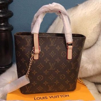 LV Louis Vuitton 2018 new retro Vivienne handbag messenger bag F-BCZ(CJZX)