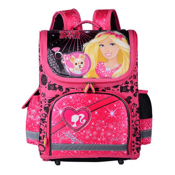 2017 Girls School Bags Backpacks Children Orthopedic Waterproof Backpack Girl's Sofia Book bag Kids Satchel Knapsack Mochila