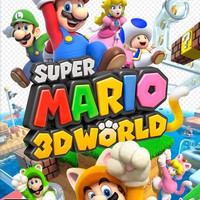 Super Mario 3D World - Wii U (Very Good)
