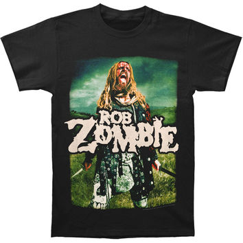 Rob Zombie Men's  Warrior T-shirt Black