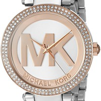 Michael Kors Women's Parker Two-Tone Watch MK6314
