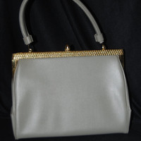 Light Gray Vintage Purse