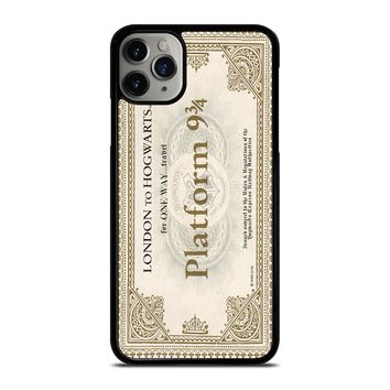 HARRY POTTER TICKET iPhone Case Cover