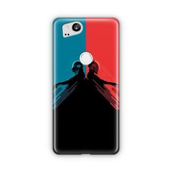 Daft Punk Red And Blue Google Pixel 3 XL Case | Casefantasy
