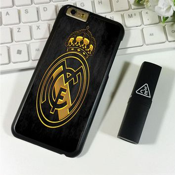 REAL MADRID GOLD iPhone 6 Plus | 6S Plus Case Planetscase.com
