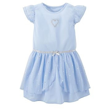 Carter's Heart Dress-Up Nightgown - Girls 4-14, Size: