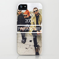 Paramore iPhone & iPod Case by ScarTissue