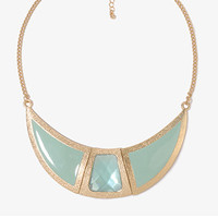 Bejeweled Opaque Necklace