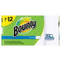 Bounty Select-A-Size White Paper Towels - 8 Giant Rolls : Target