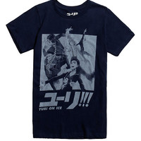 Yuri!!! On Ice Skater Group T-Shirt
