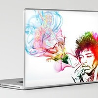 Jimi Hendrix Laptop & iPad Skin by D77 The DigArtisT | Society6