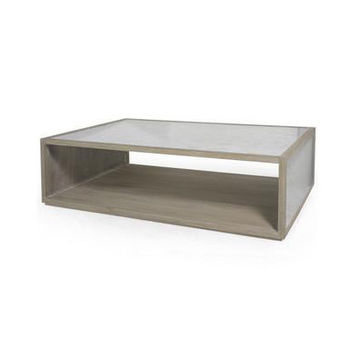 Derek Mirrored Coffee Table