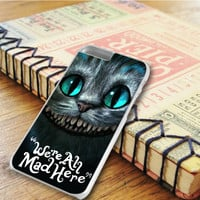 Cheshire Cat Were All Mad Here iPhone 6 Plus | iPhone 6S Plus Case