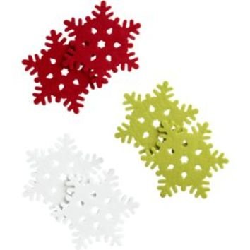 Snowflake Coasters (Set of 6)