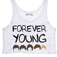 1D Forever Young Tank Top