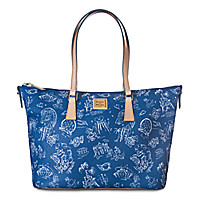 Disneyana Shopper Tote by Dooney & Bourke - Walt Disney World - Navy