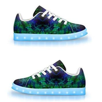 Psych Ward - App Controlled Low Top LED Shoes