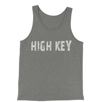 High Key  Jersey Tank Top for Men