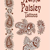 Henna Paisley Tattoos (Dover Tattoos):Amazon:Books