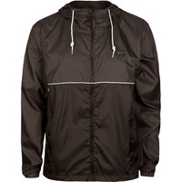 Billabong Solid Force Mens Windbreaker Black/Grey  In Sizes