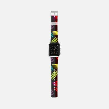 Neon Abstract Apple Watch Band (38mm) by Famenxt | Casetify