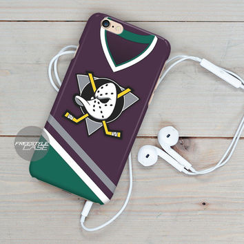 Anaheim Ducks Logo Jersey iPhone Case Cover Series
