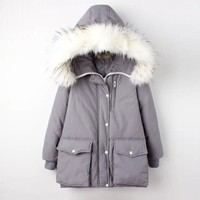 Padded Thicken Outdoors Winter Women's Fashion Cotton [11834121551]