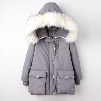 Padded Thicken Outdoors Winter Women's Fashion Cotton [45261815833]