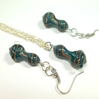 Mini Pipe Necklace by Ed DuBick