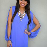 See You In A Slit Dress: Periwinkle | Hope's